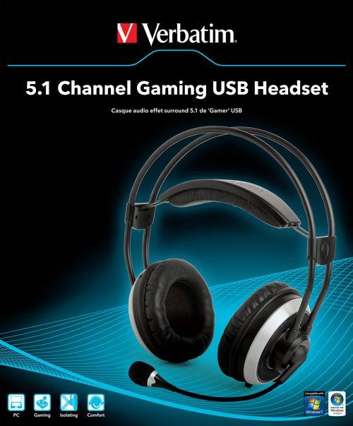 Verbatim 5.1 Gaming Headset