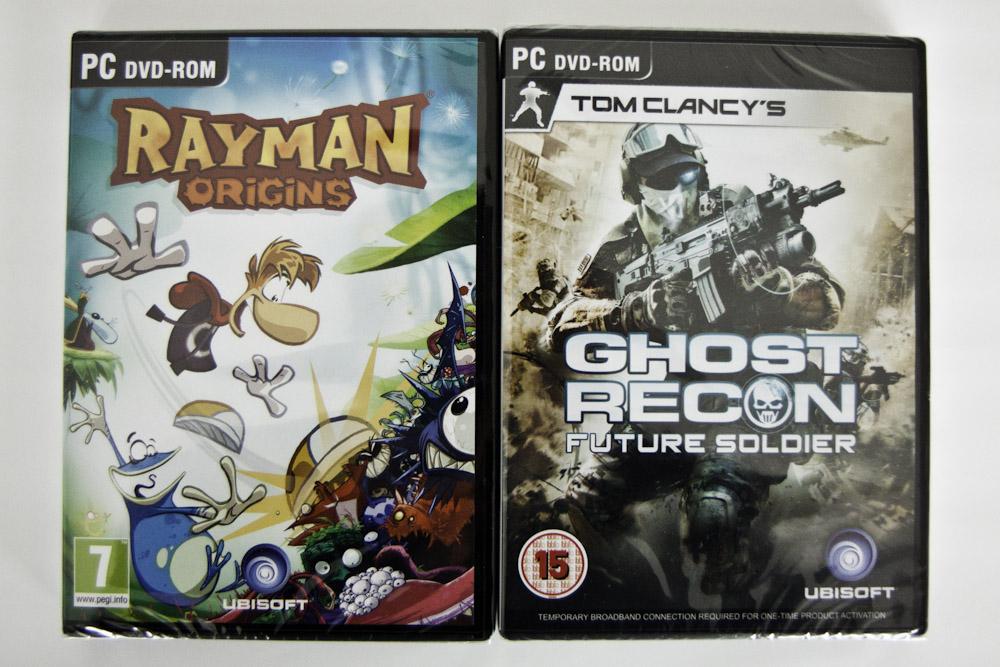 Concurs Ubisoft: câştigă un joc Ghost Recon Future Soldier sau Rayman Origins