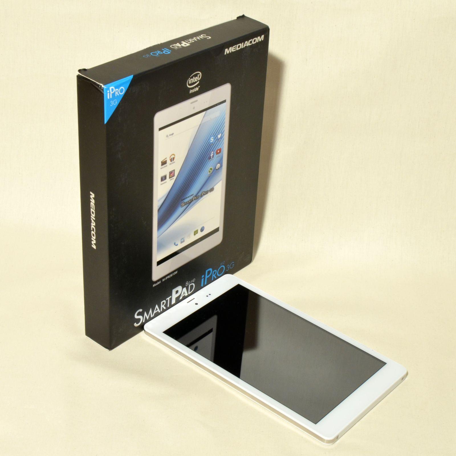 Mediacom SmartPad 8.0 HD iPro810 3G aduce un design plăcut în segmentul Entry Level
